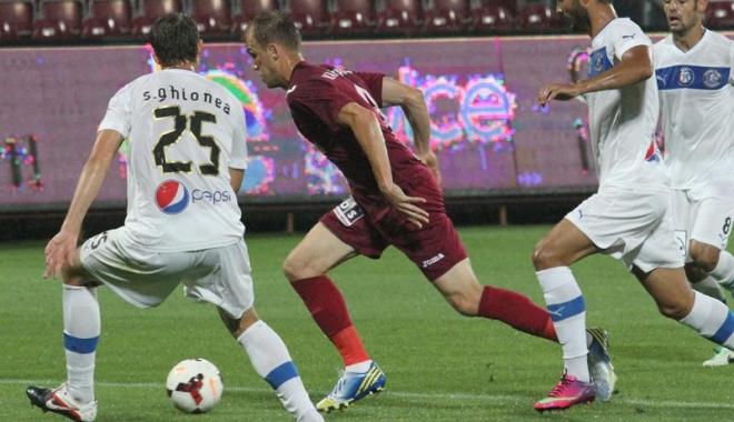 Foto: CFR Cluj - Viitorul Constanţa, meci nul, 0 - 0, în Liga I