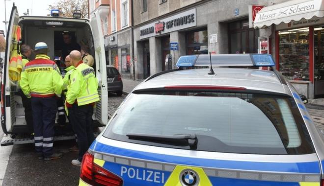 Foto: Panică la Munchen. Mai multe persoane au fost înjunghiate