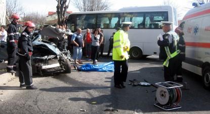 Foto: Accidente sângeroase pe şoselele Constanţei