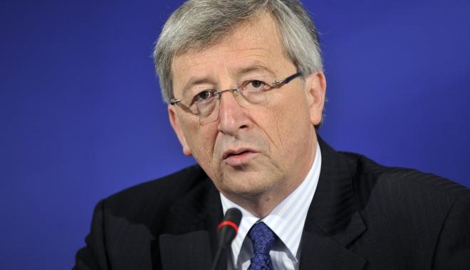 Foto: Jean-Claude Juncker în vizită la Bucureşti