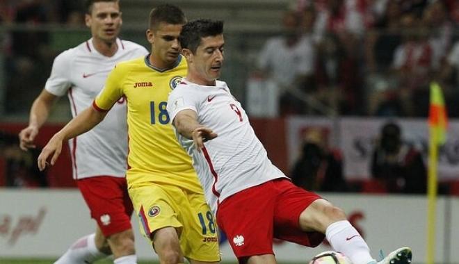 Foto: Fotbal: Polonia - România 3-1, în preliminariile Cupei Mondiale din 2018