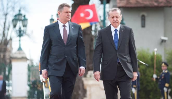 Iohannis şi Erdogan au căzut de acord: