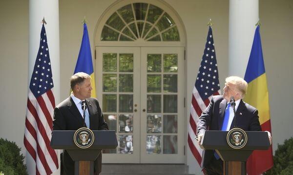 """Foto: Donald Trump: """"SUA respectă Articolul 5 al NATO. Vom fi acolo pentru a proteja"""""""