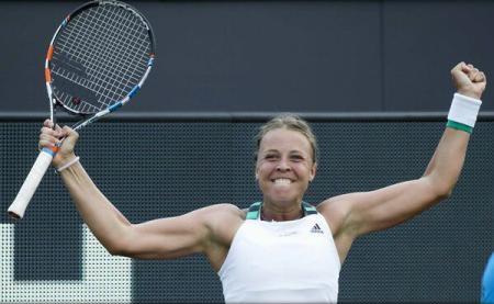 Foto: TENIS / Anett Kontaveit a câştigat turneul WTA de la 's-Hertogenbosch