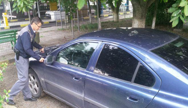 Foto: Autoturism căutat de autoritățile din Italia, descoperit de poliţiştii români