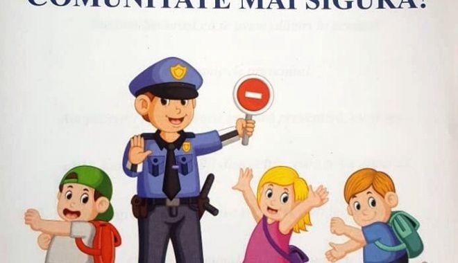 Foto: Campanie de prevenire, desfășurată de polițiștii constănțeni