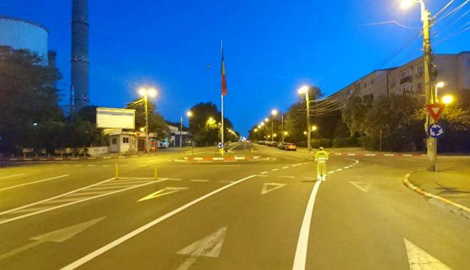 Siguranța pe drumurile publice asigurată prin retrasarea marcajelor rutiere - 1-1591974136.jpg