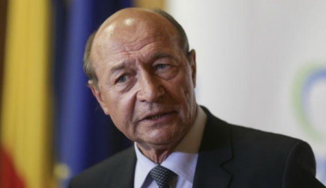 Foto: Traian Băsescu: La nivelul UE, România are cel mai înalt nivel procentual de fraudare