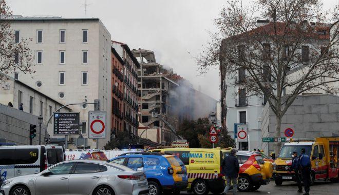 Explozie puternică la Madrid. O clădire din centrul oraşului s-a prăbuşit - 1-1611155335.jpg