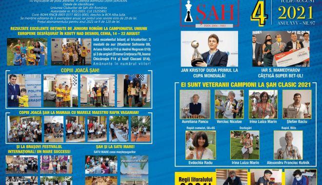 """Semnal editorial / A apărut numărul 4/2021 al revistei """"Şah"""" - 1-1632656395.jpg"""