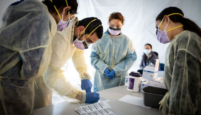 Foto: Cadrele medicale din Spitalul Județean Constanța au fost testate pentru COVID-19