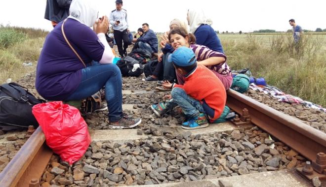 Foto: Zece irakieni, întorşi din drumul spre Germania de poliţiştii de frontieră constănţeni