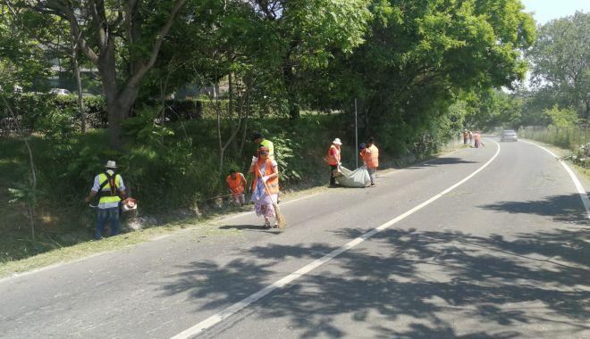 Foto: Continuă acțiunile de salubrizare stradală, în Constanța!
