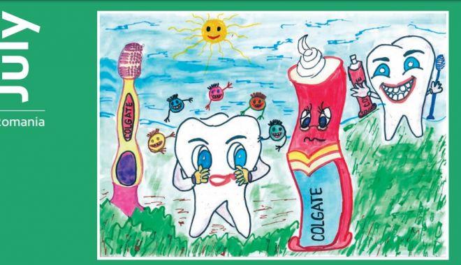Au adus clasei lor câte o bursă de 500 dolari, cu desenele premiate la My Bright Smile - 11-1626181567.jpg