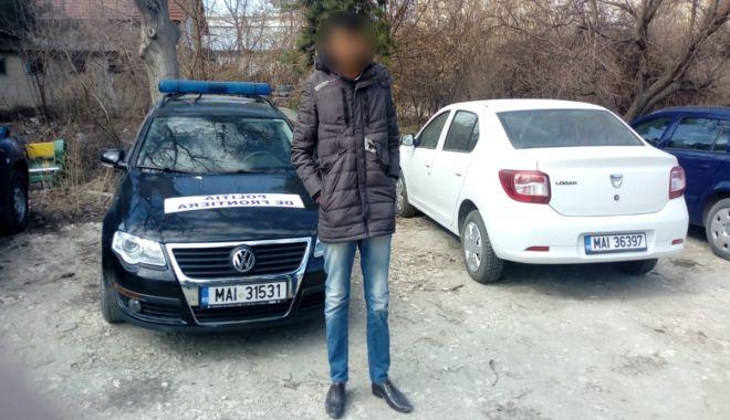 Foto: Un cetățean indian, depistat la frontiera cu Bulgaria