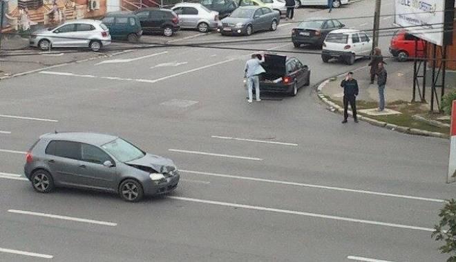 Foto: Galerie foto. Accident rutier în Constanţa