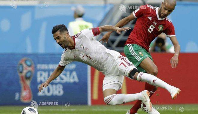 Foto: CM 2018 / Selecţionata Iranului a învins dramatic formaţia Marocului