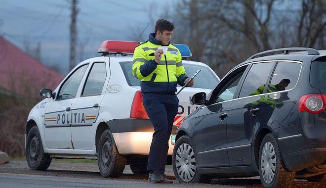Foto: Poliția Rutieră a avut de lucru și în a doua zi de Crăciun