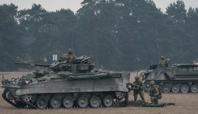 Foto: ÎNCEPE NOBLE JUMP. Peste 4.000 de militari români şi din ţări membre ale NATO participă la exerciţiu