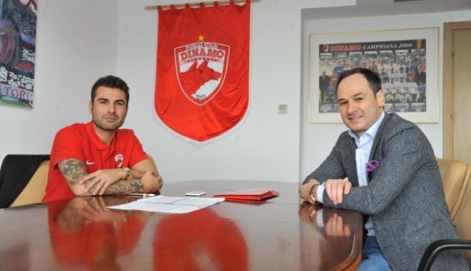 Foto: Mutu, noul manager general al lui Dinamo