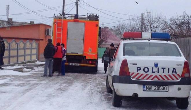 Foto: CLIPE DE GROAZ� �n localitatea const�n�ean� Mihail Kog�lniceanu. EXPLOZIE PUTERNIC�!