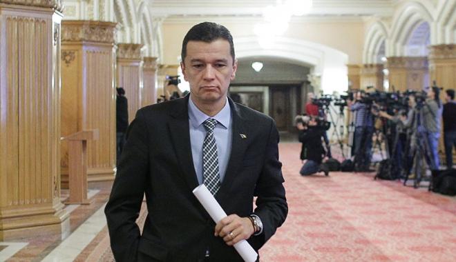 Foto: Sorin Grindeanu, DECLARAŢIE DE PRESĂ după ce Guvernul său a picat