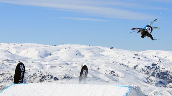 Foto: Joss Christensen, campion olimpic la schi slopestyle