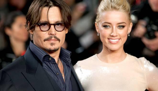 Foto: Johnny Depp şi Amber Heard, la un pas de divorţ?