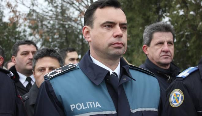 Foto: Şeful Poliţiei Constanţa, chestorul Bogdan Despescu, pleacă la cursuri în SUA