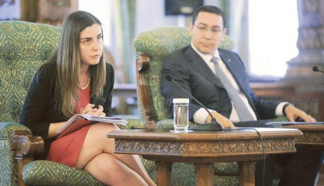 Foto: Ioana Petrescu, fost ministru al Finanţelor, se înscrie în partidul lui Ponta
