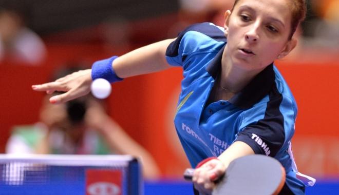 Foto: Tenis de masă / Elizabeta Samara şi Daniela Dodean-Monteiro, calificate în optimi la Mondiale