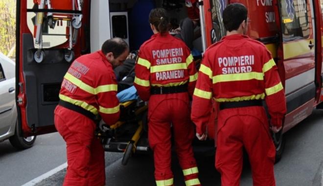 Foto: ACCIDENT ÎN POLIGONUL DE LA CINCU / UN MINOR A FOST RĂNIT