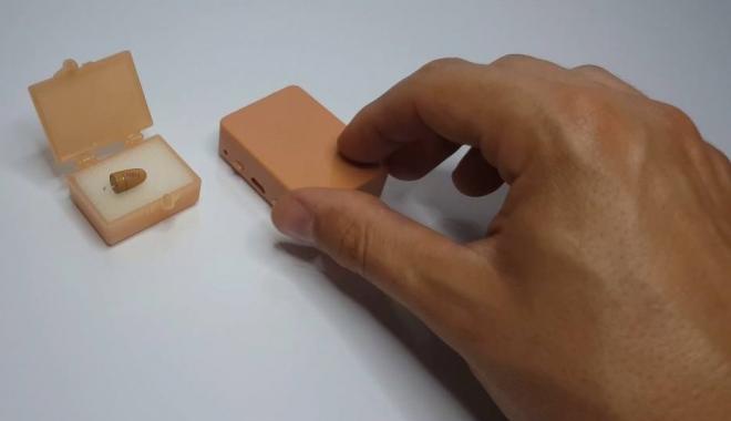 Foto: Ce se mai vinde pe internet / Cască de copiat la BAC fără telefon, nedetectabilă