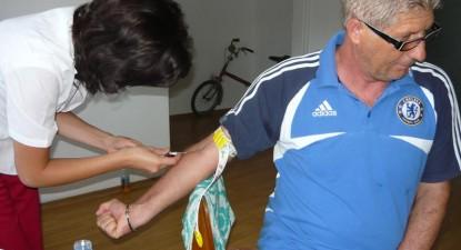 Foto: Lui Iovănescu i s-a spus, pe patul de spital, că Farul a bătut Victoria Brăneşti