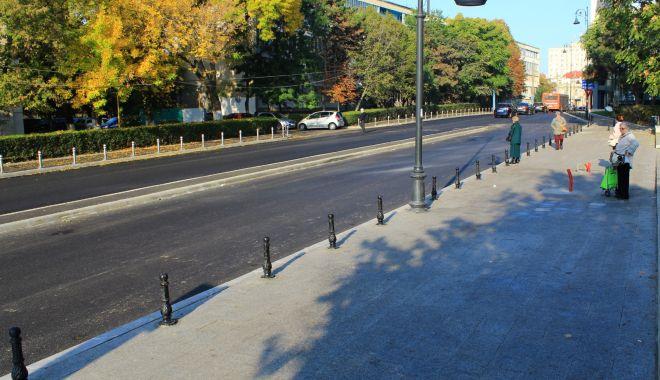 Foto: O stradă importantă din municipiul Constanța, modernizată
