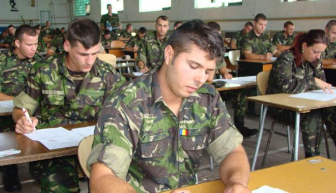 Foto: FORŢE PROASPETE ÎN ARMATA ROMÂNĂ! Au fost publicate rezultatele sesiunii de admitere în colegiile militare