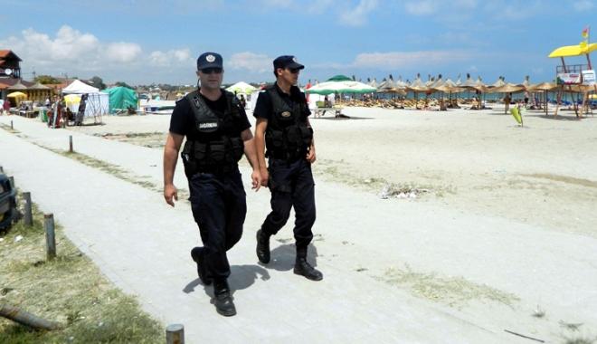 Foto: Peste 150 de jandarmi, în misiune, la Constanţa