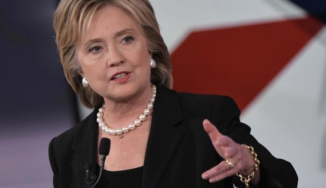 """Foto: Hillary Clinton consideră retragerea SUA din acordul de la Paris """"o greşeală istorică"""""""