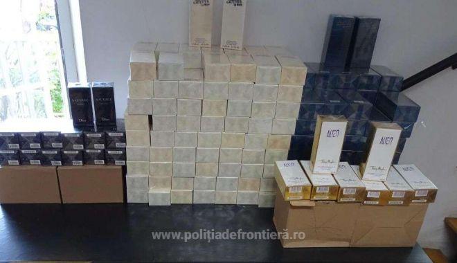 Mii de parfumuri și articole de îmbracăminte, susceptibile a fi contrafăcute, confiscate - 1569138003350giurgius4-1569149434.jpg