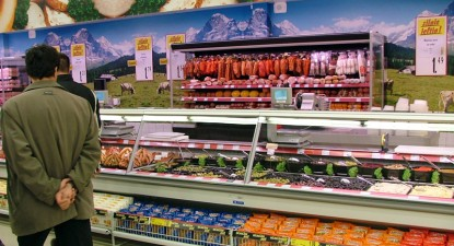 Foto: Supermarket-uri româneşti