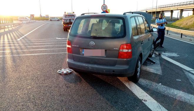 Foto: GALERIE FOTO / ACCIDENT CU PATRU VICTIME, la ieșire din A4 spre Agigea