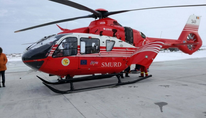 Foto: GALERIE FOTO / Constanţa beneficiază de un nou elicopter SMURD