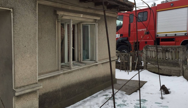 Foto: GALERIE FOTO / UPDATE. EXPLOZIE în Medgidia. O femeie este rănită