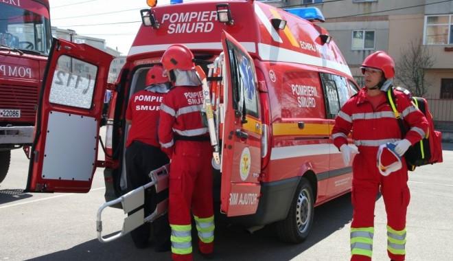 Foto: POLIŢIST rănit grav într-un accident în staţiunea Mamaia