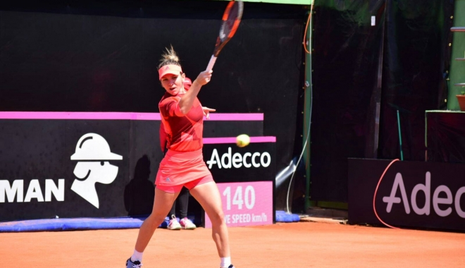 Foto: Tenis Fed Cup / A început cu dreptul! Simona Halep, victorie de senzaţie! UPDATE