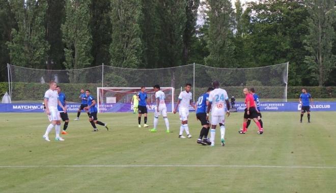 Foto: Olympique Marseille - FC Viitorul 4-2, în meci amical