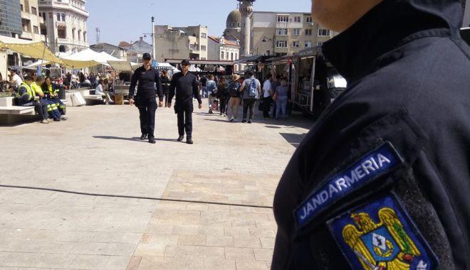Foto: Jandarmii constănţeni, la datorie în weekend