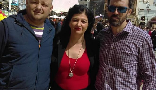 Foto: GALERIE FOTO. Ziua Europei şi a Independenţei României, sărbătorite la Constanţa