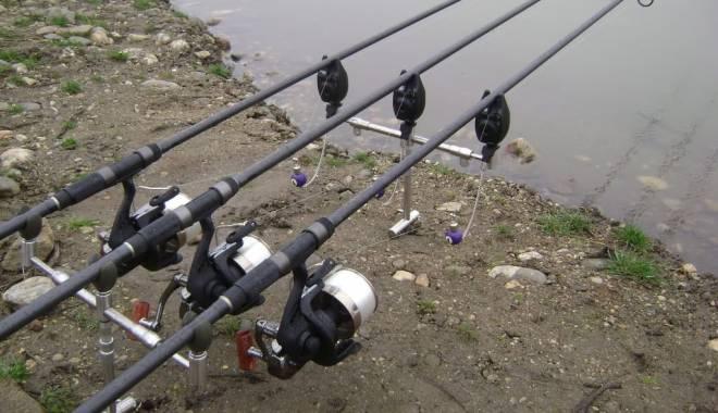 Foto: Braconaj piscicol pe lacul Siutghiol