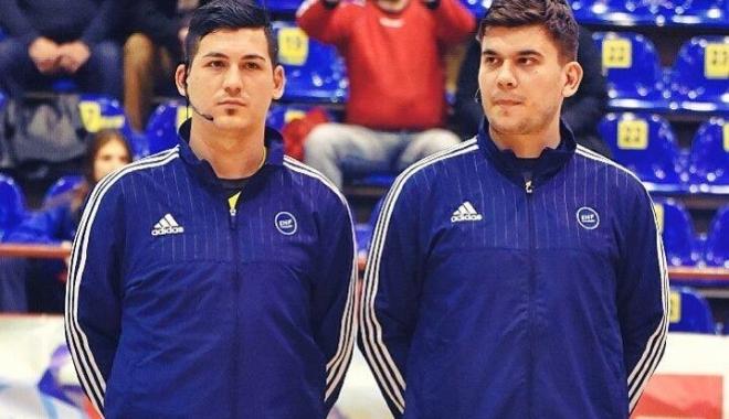 Foto: Doi arbitri constănţeni, delegaţi  la Festivalul Olimpic de Tineret